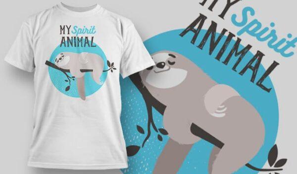 My Animal Spirit T-shirt designious tshirt design 1153