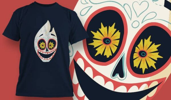 Mexican Clown T-shirt designious tshirt design 1396
