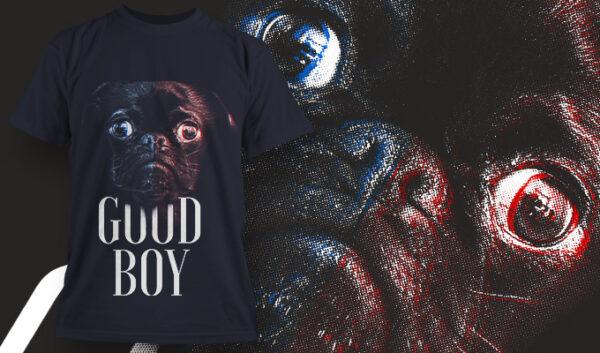 Good Boy T-shirt designious tshirt design 1630