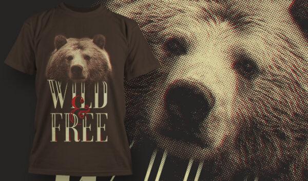 Wild and Free T-shirt tshirt wild free free